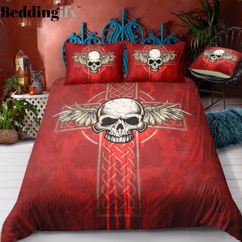 M8 Skull Bedding Set - Beddingify