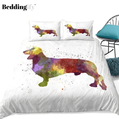 Image of Colorful Dog Bedding Set - Beddingify