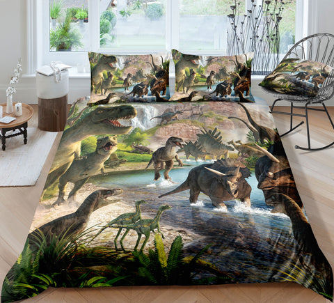The World of Dinosaur Bedding Set - Beddingify
