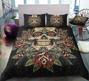A5 Skull Bedding Set