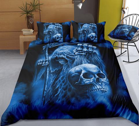 Image of A7 Skull Bedding Set