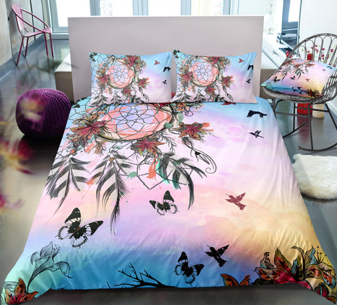 Image of Autumn Dreamcatcher Bedding Set - Beddingify