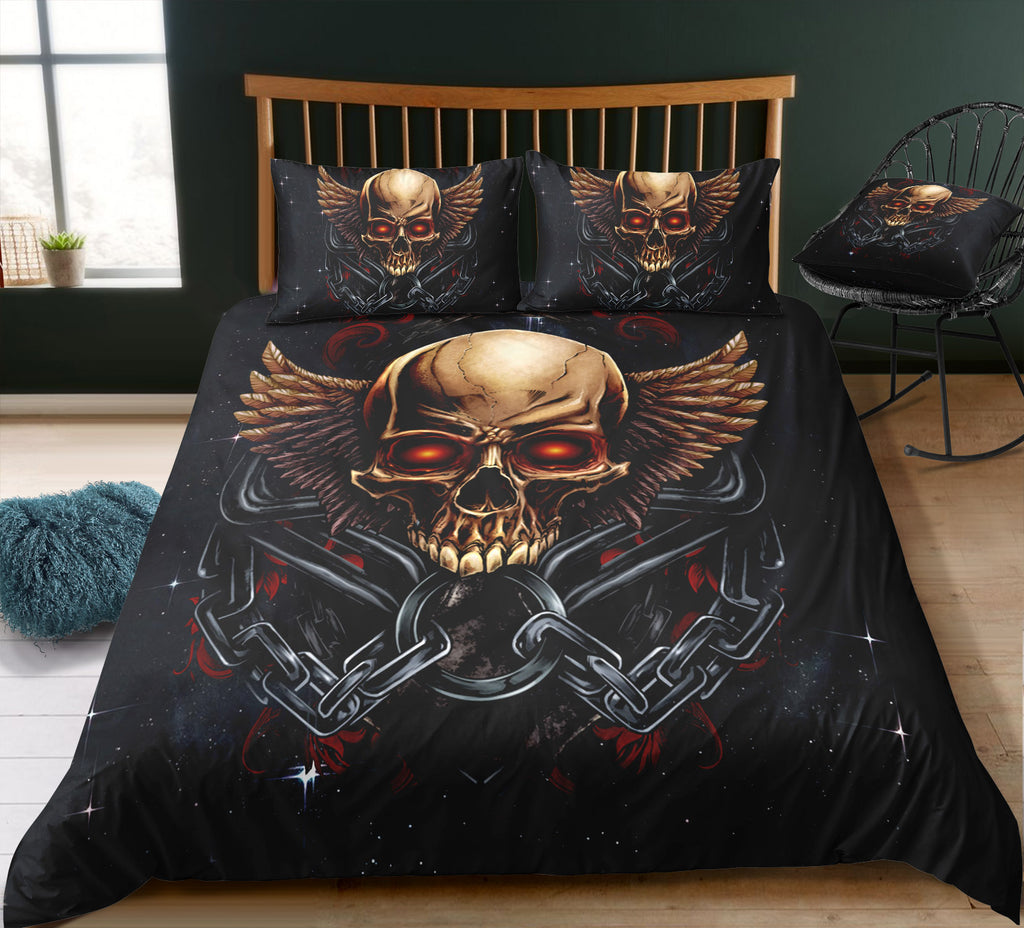 B6 Skull Bedding Set