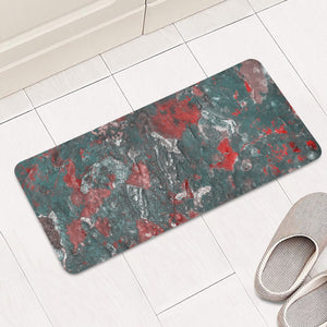 Multicolored Abstract Print Rectangular Doormat