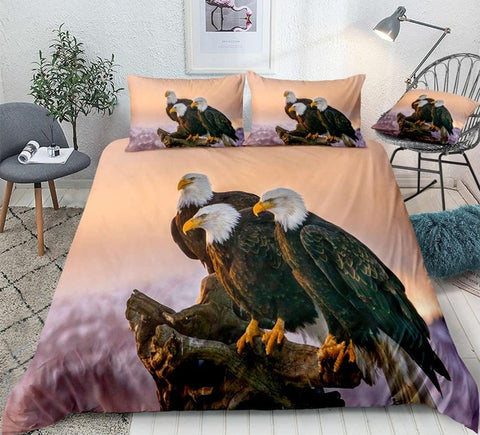 Image of Bald Eagle Bedding Set - Beddingify