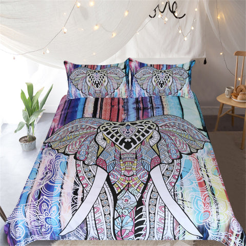 Image of Mandala Elephant Bedding Set - Beddingify