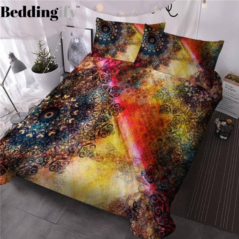 Flower Bohemian Bedding Set - Beddingify