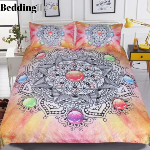 Image of Crystal Gemstone Bohemian Bedding Set - Beddingify
