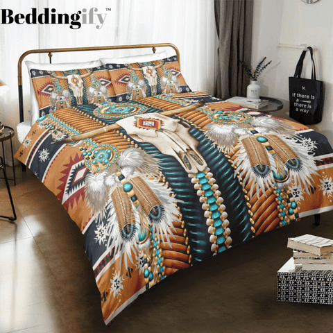 Image of Apache Pattern Bedding Set - Beddingify
