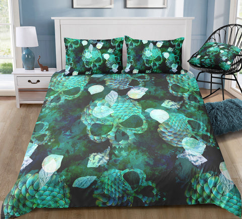 Image of C11 Skull Bedding Set