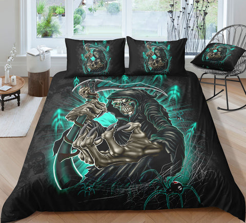Image of C3 Skull GWBJ22610 Bedding Set
