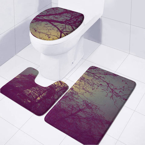 Tour Eiffel Paris Paysage Toilet Three Pieces Set