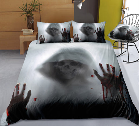 Image of D2 Skull Bedding Set