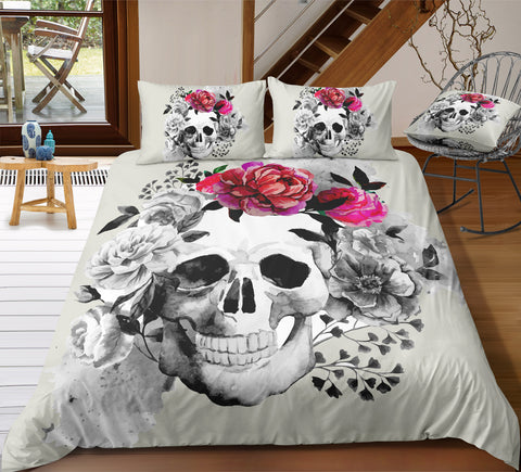 D5 Skull Bedding Set