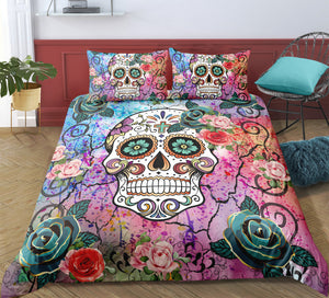 D6 Skull Bedding Set