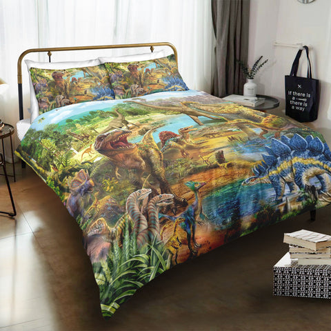 World Of Dinosaur Bedding Set - Beddingify