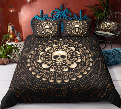 E4 Skull Bedding Set