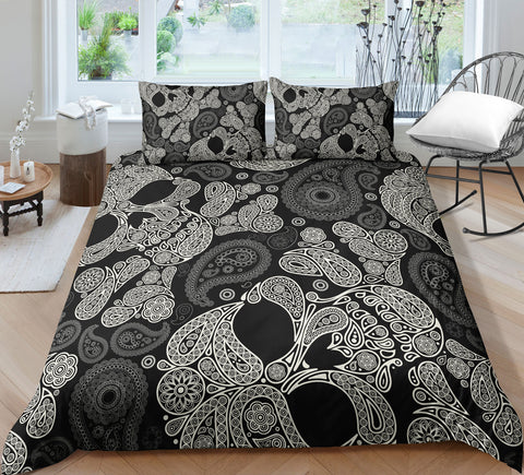 Image of F4 Skull Bedding Set