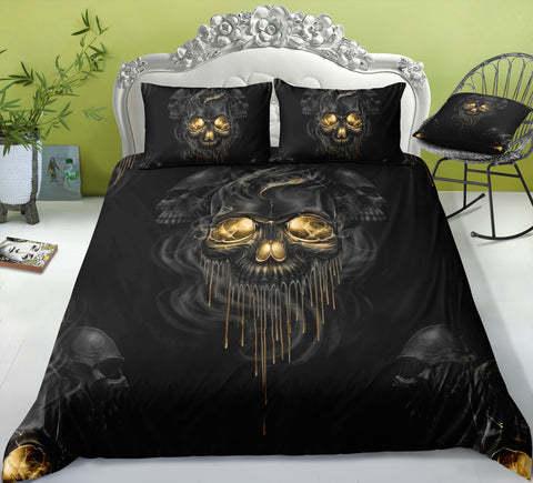 F5 Skull Bedding Set