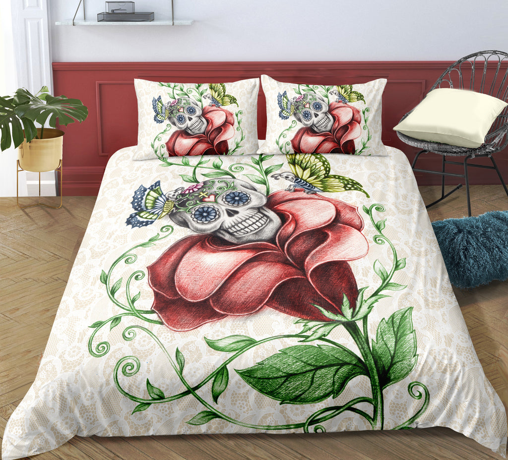G6 Skull Bedding Set