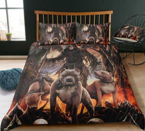 G9 Skull Bedding Set