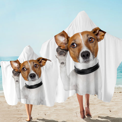 Image of Woof Is That Hooded Towel