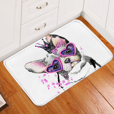 Image of Gaudy Pup Door Mat