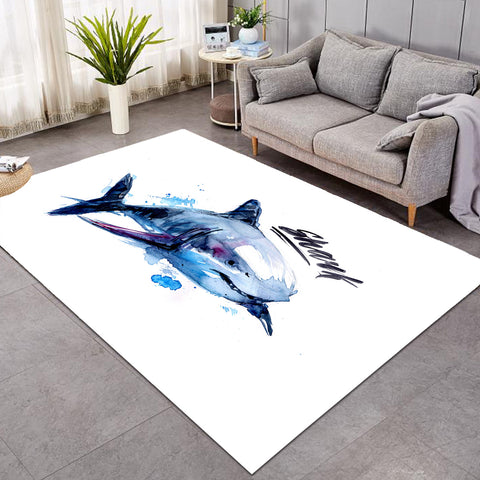 Image of Shark Sketch GWBJ14350 Rug