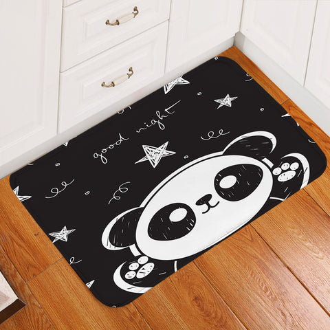 Image of Goodnight Panda Cub Door Mat