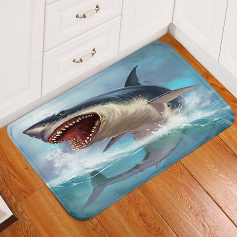 Image of Terror Shark Door Mat