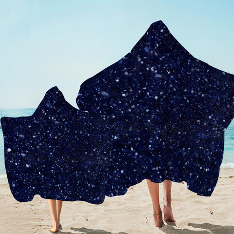 Image of Starry Hooded Towel