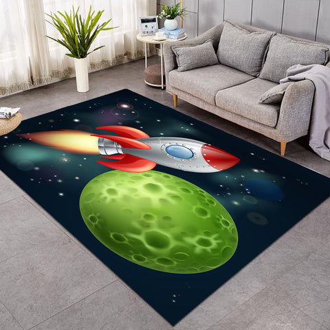 Image of Space Rocket GWBJ15567 Rug