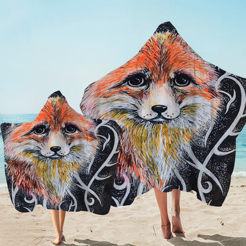 Image of Old Fox Hooded Towel