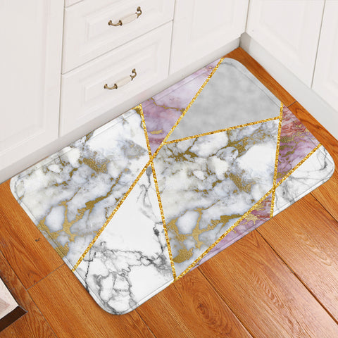 Image of Marble Tiles Door Mat