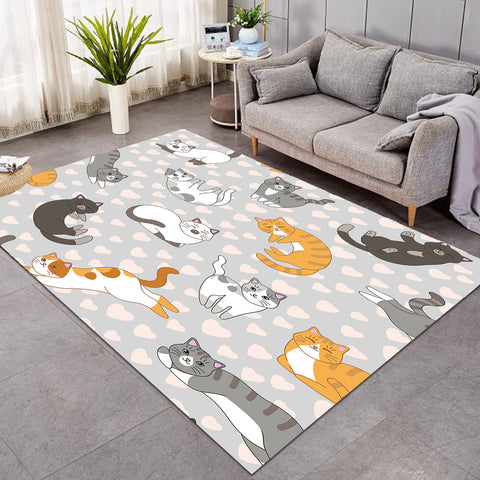 Image of Kitty Things Gray GWBJ16210 Rug