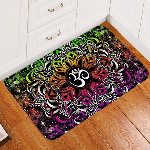 Image of Ohm-centric Mandala Door Mat