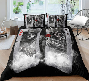 H1 Skull Bedding Set