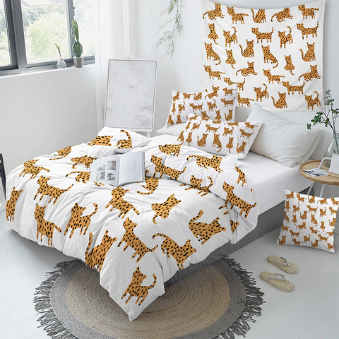 Kids Cheetah Comforter Set - Beddingify