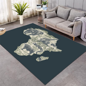 Africa Continent Rug