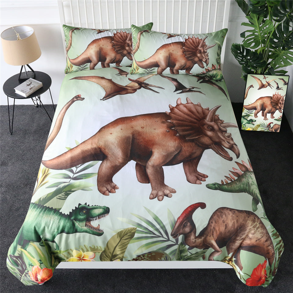 Jurassic Dinosaur Park Bedding Set - Beddingify