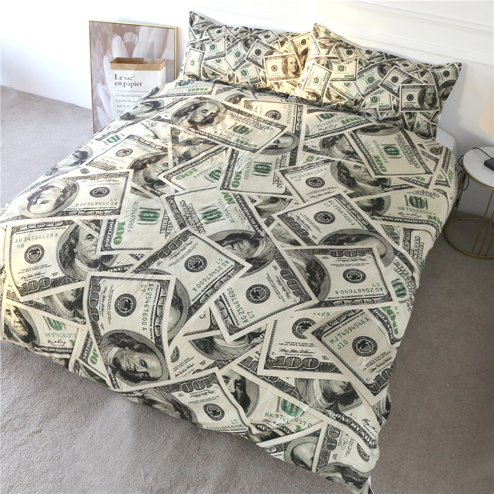 Money Bedding Set
