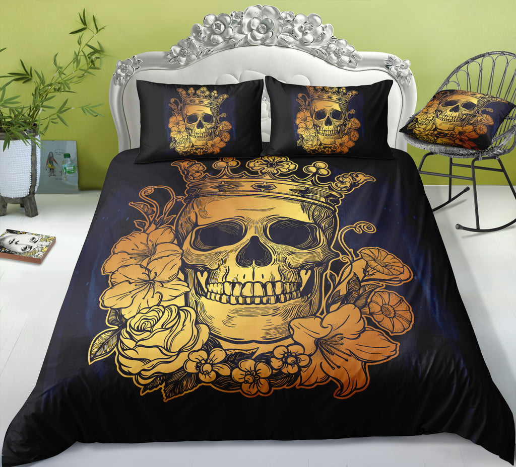 I4 Skull Bedding Set