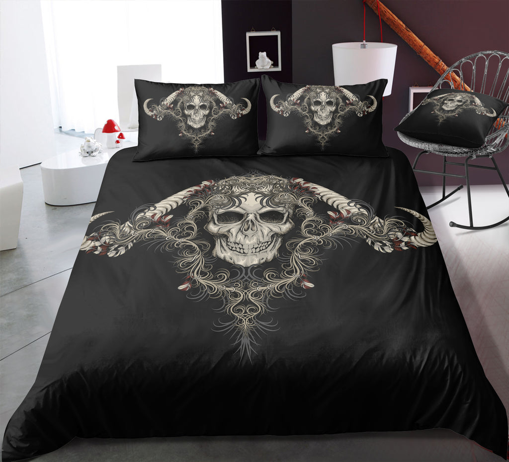 I7 Skull Bedding Set
