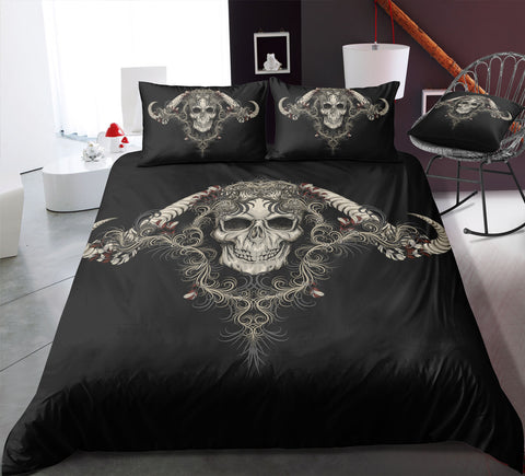 Image of I7 Skull Bedding Set