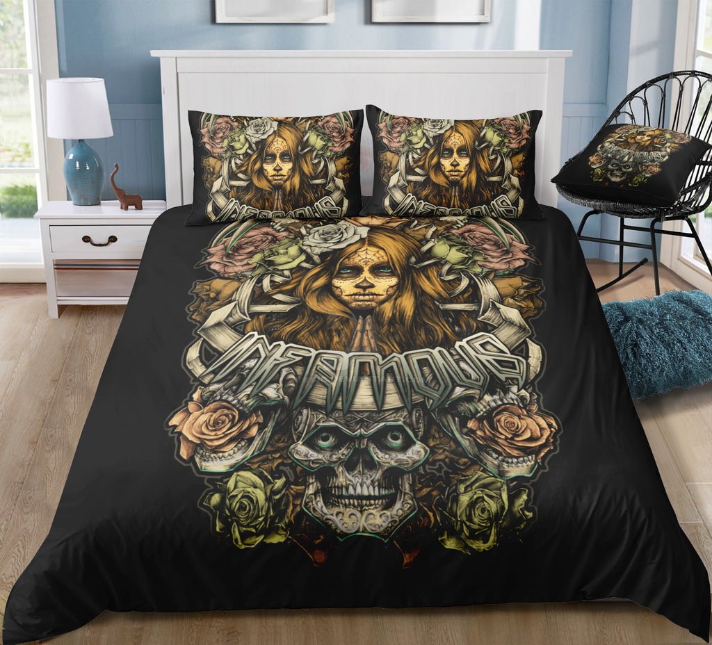 I8 Skull Bedding Set