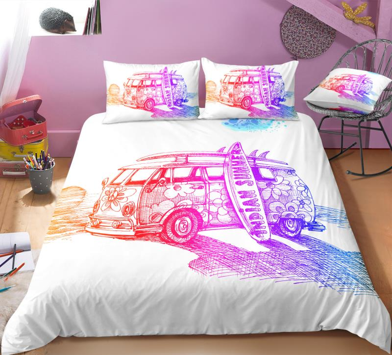 Indian Summer Bus Bedding Set - Beddingify