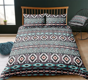 Indian inspired - Indian Aztec Pattern Bedding Set - Beddingify