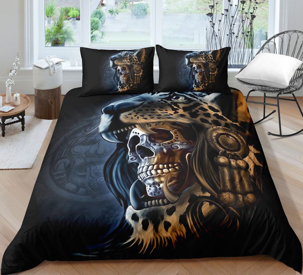 J2 Skull Bedding Set