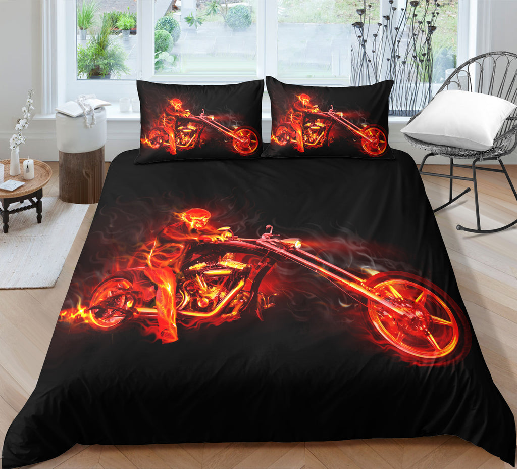K4 Skull Bedding Set
