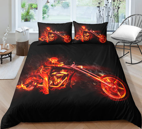 Image of K4 Skull Bedding Set